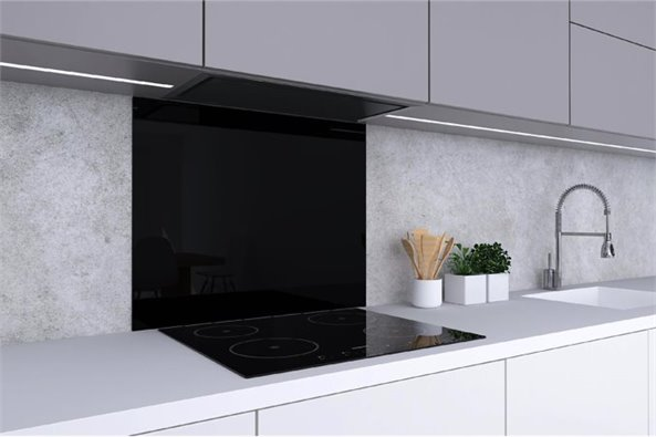 Black Backsplash (23.6x27.6)
