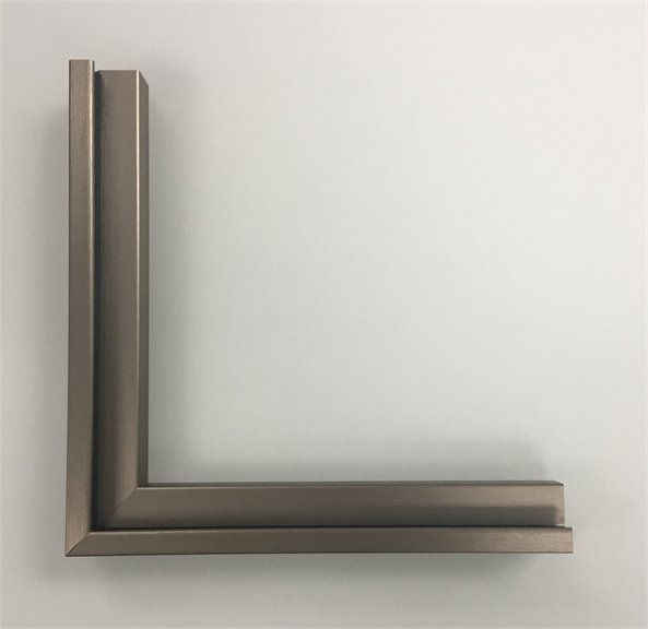 Verona Brushed Bronze Corner