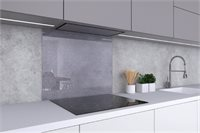 Brushed Stainless Steel Backsplash (35.4x27.6)